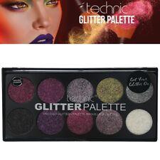 Technic Glitter Palette - Unicorn Uniform Pink Purple Gold Silver Black