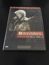 VH1 STORYTELLERS - BILLY IDOL DVD EXTENDED CUT