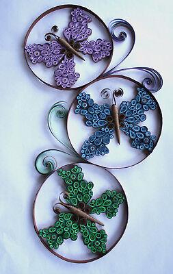 Bastelwerkzeug Quilling-Papier Pinzette Kleber Bastelbrett 14 x DIY Quilling-Papierstreifen-Set mit 6 Farben 5 mm x 39 cm