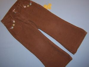 """Hearty Gymboree Girls """"equestrian Club"""" Sz 4 Pants...tan Corduroy...outlet Customers First Baby & Toddler Clothing"""
