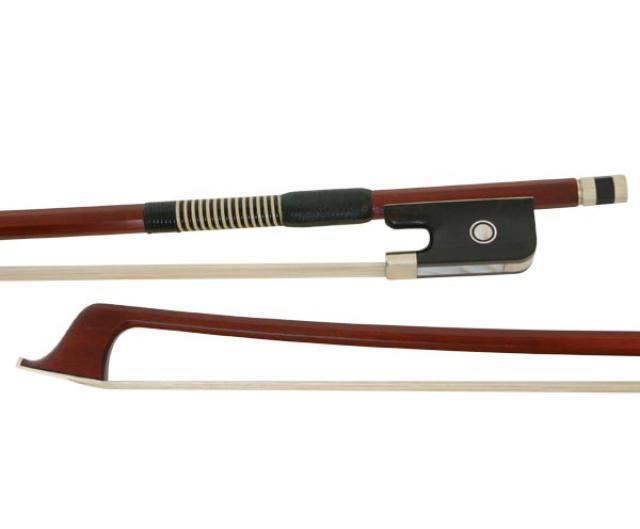 Mueller Full storlek Octagonal Pernambuco Cello Bow Weight 80.4 - 80.8 Grams New