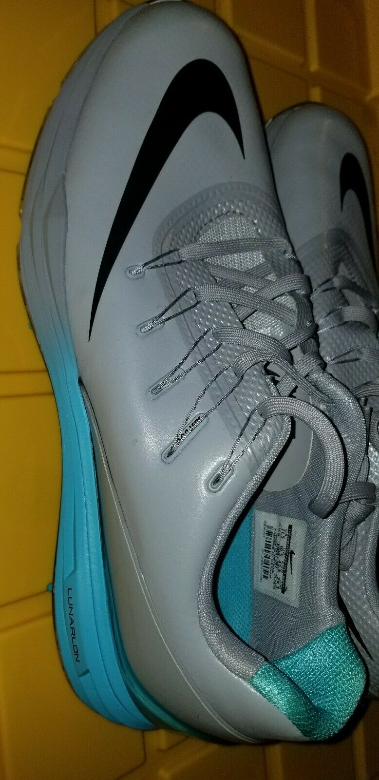 consultor Cabaña ¿Cómo  Nike Lunar Control 4 Mens Golf Shoes Wolf Grey Beta Blue 819037 002 McIlroy  11.5 for sale online | eBay