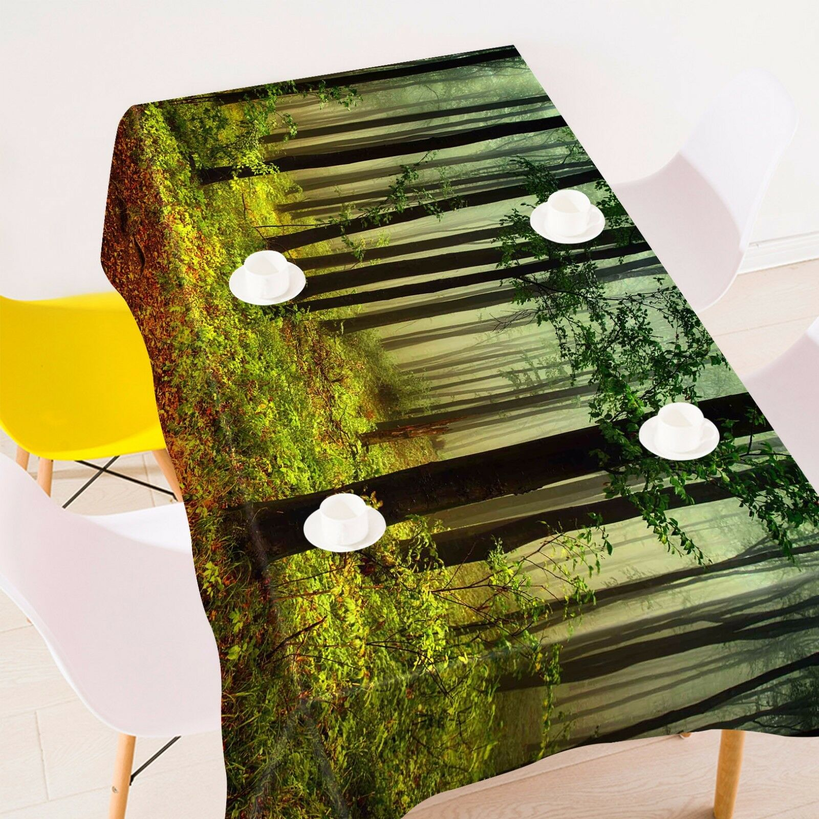 3D Jungle 887 Tablecloth Table Cover Cloth Birthday Party Event AJ WALLPAPER AU