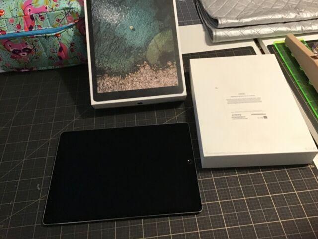 Apple iPad Pro 2nd Gen. 256GB, Wi-Fi + 4G (Verizon), 12.9 in - Space Gray AS IS