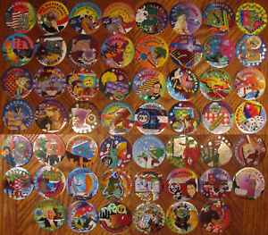 Details about POGS USA STATES & GOVERNMENT BRANCHES Prismatic RARE LOT 51
