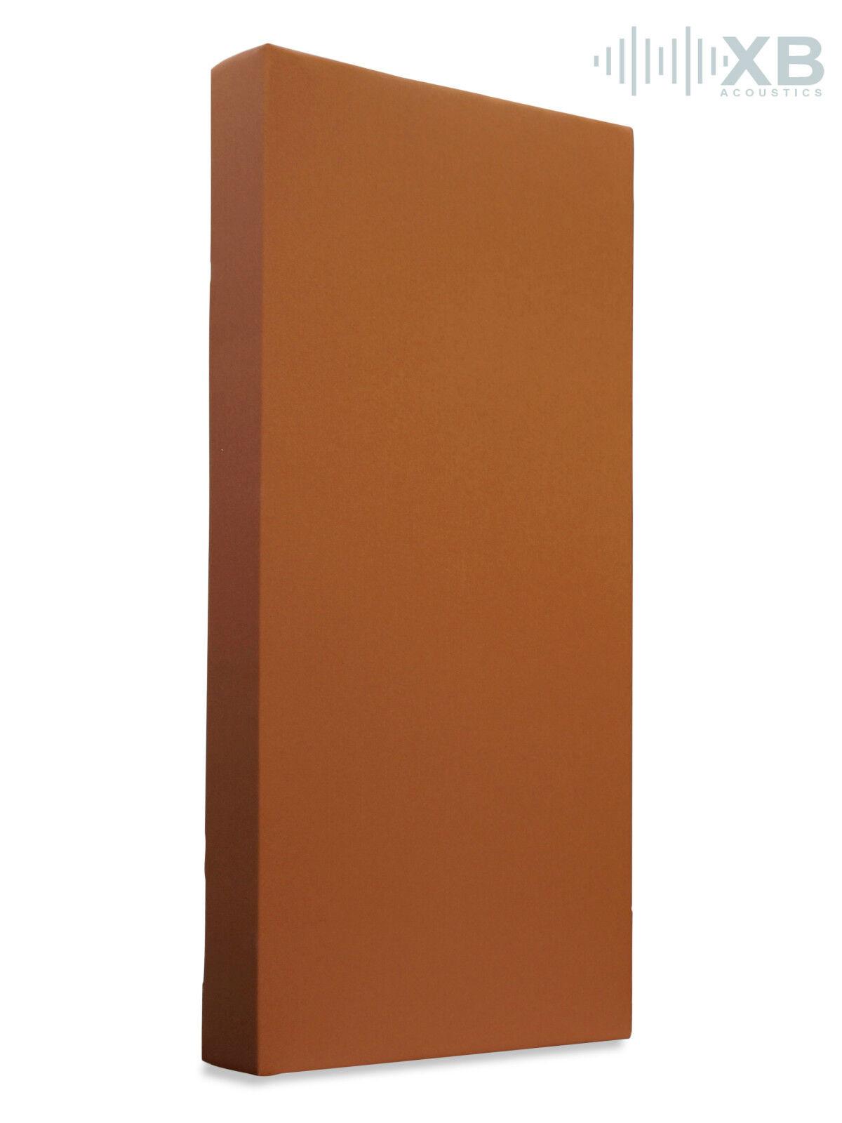Tonstudio Akustikabsorber aus Basotect® 100x50x12cm Terakotta
