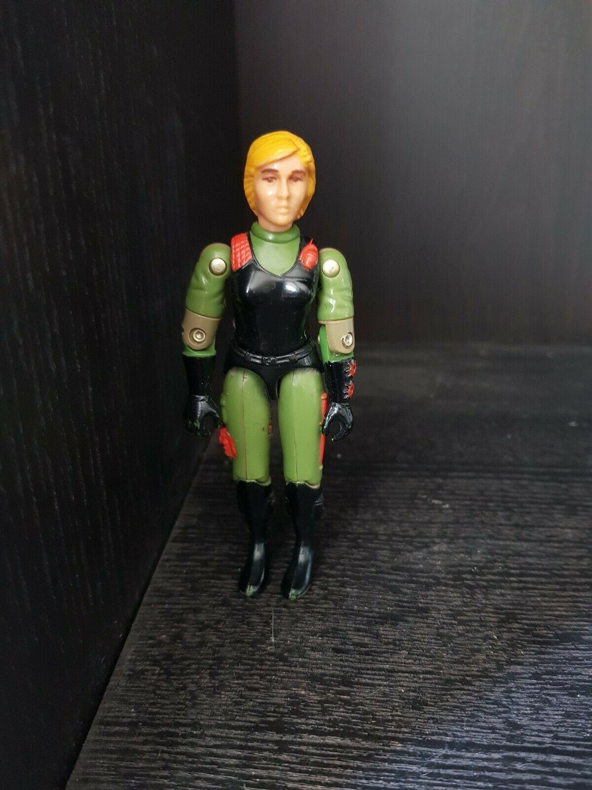 Action Force GI Joe Figure Quarrel (Scarlett) Hasbro