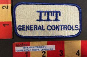 Patch-ITT-GENERAL-CONTROLS-Oil-Rig-amp-Gas-Industry-Supplier-PUMPS-VALVES-56BB