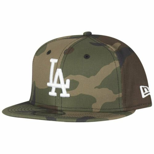 New Era 9Fifty Snapback Cap Los Angeles Dodgers wood camo