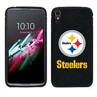 Pittsburgh Steelers Alcatel Idol 4 Pebble Grain Feel 2 Piece Case