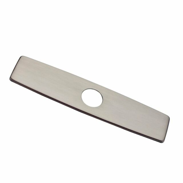 Tatuo Sink Tap Hole Cover Kitchen Faucet Hole Cover Stainless Steel 1.2 to 1.6 Inch in Diameter 3 Packs