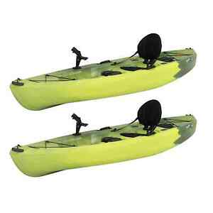 Lifetime Tamarack Angler 10' Fishing Kayak 2 Pks (Paddles not Included)
