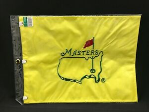 MASTERS Official Undated EMBROIDERED Golf Pin FLAG Sealed-NEW
