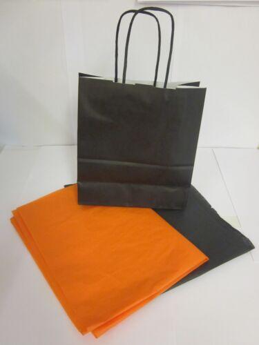 candy sweet butin titulaire sac /& tissu Noir Halloween Trick or Treat parti sacs