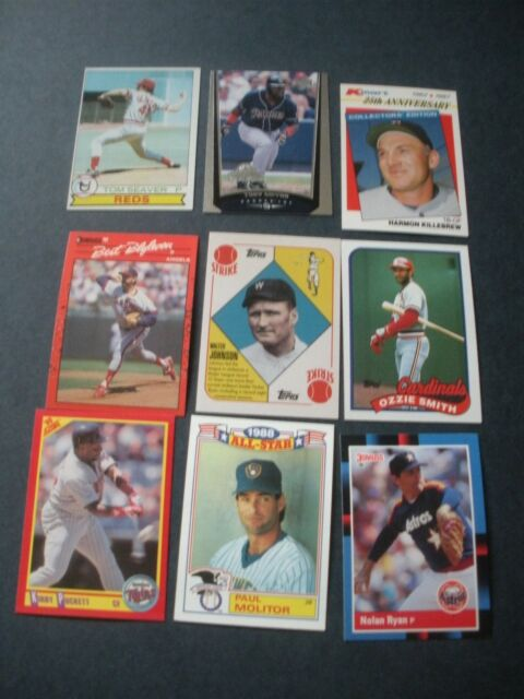 Hall Of Fame Baseball Card Lots Take A Look
