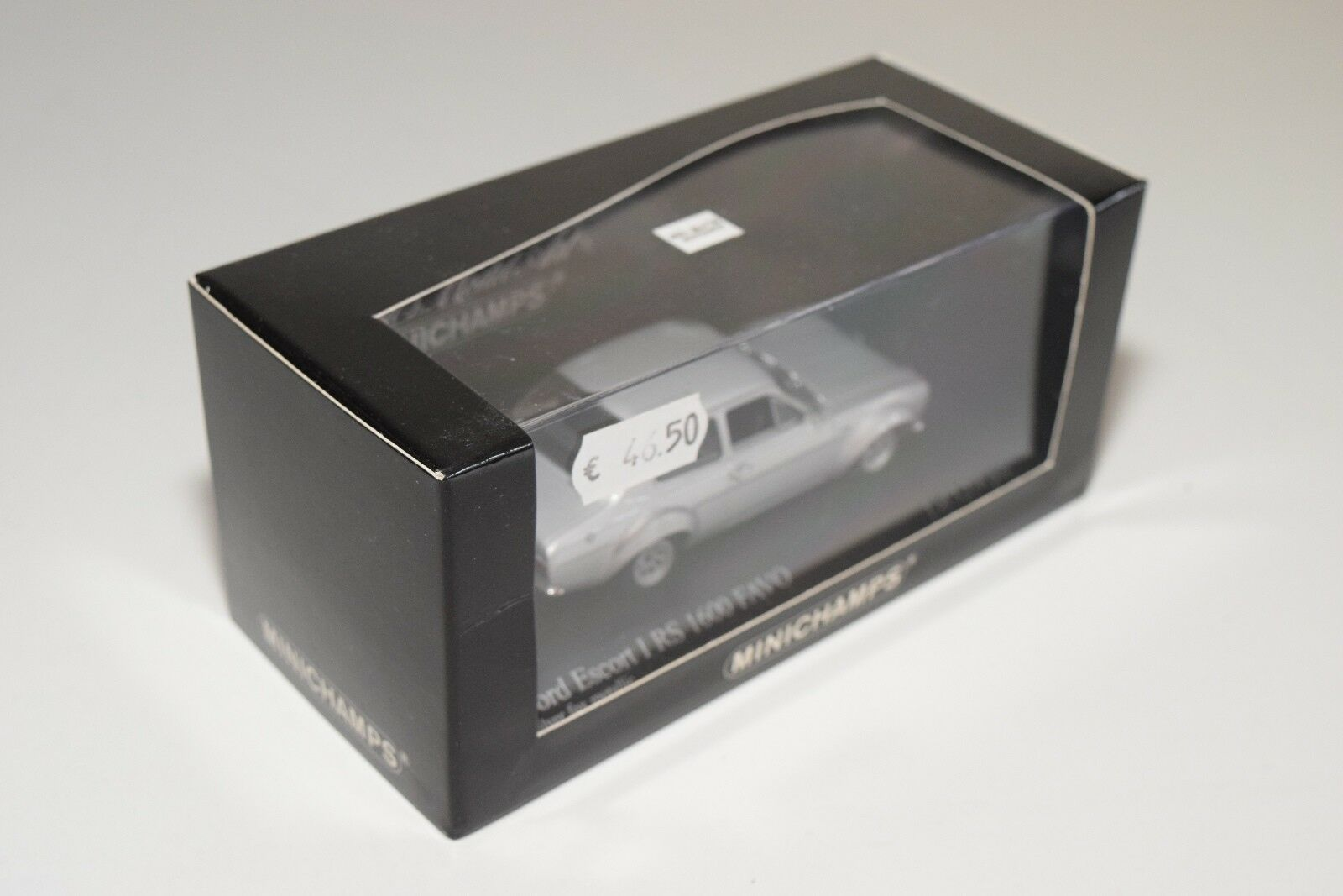 MINICHAMPS FORD ESCORT MK I RS 1600 FAVO 1970 1970 1970 plata gris MINT BOXED 157119