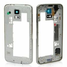 For Samsung Galaxy S5 Chassis Bezel Mid Frame Housing G900F Silver