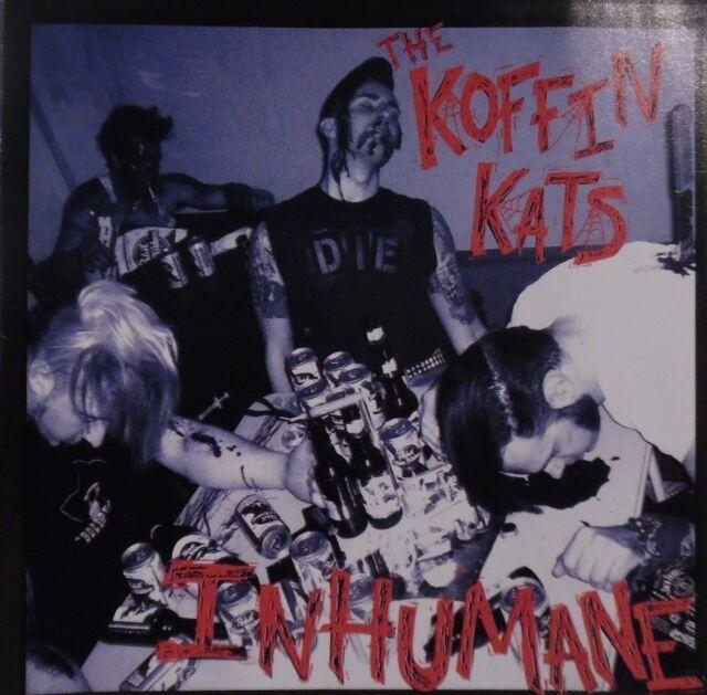 "CD KOFFIN KATS ""Inhumane"" Psychobilly US Punkabilly 2005 Heavy-Psycho LIVING END"