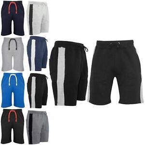 Mens-Plain-Summer-Casual-Gymming-Joggers-Baggy-Jersey-Running-Gym-Jogging-Shorts