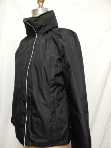 Black Ny med Hooded L Breaker Jakke Wind Nautica Tags Front Zip T0B8Z6q07g