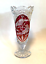 Hofbauer-Bleikristall-Trumpet-Vase-Ruby-Red-Byrdes-Lead-Crystal-10-25-inches thumbnail 1
