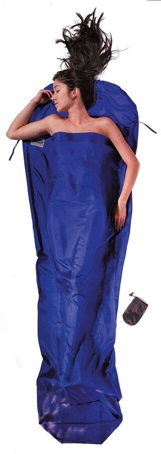 Cocoon - Inlett Mumie Seide - ultramarine Blau