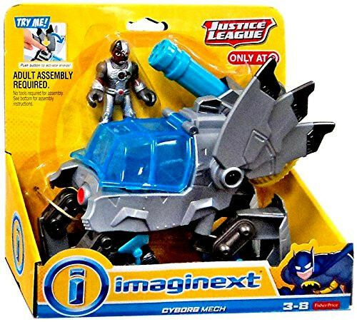 Fisher - price imaginext_justice liga collection__cyborg bild & mech_exclusive