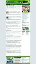 RECYCLING WEBSITE / WORDPRESS BLOG WITH UK AFFILIATE STORE + ADSENSE FREE DOMAIN