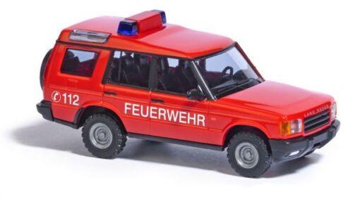"Busch 51910 Land Rover Discovery 1998 /""Feuerwehr/"" HO 1:87 NEU"