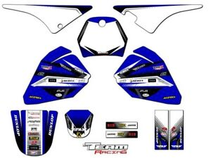 1990 2018 yamaha pw 80 graphics kit decals stickers all years deco pw80 mx ebay. Black Bedroom Furniture Sets. Home Design Ideas