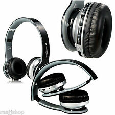 NEW BOXED BLUETOOTH WIRELESS HEADSET HEADPHONES + MIC FOR ALL SAMSUNG HTC MOBILE
