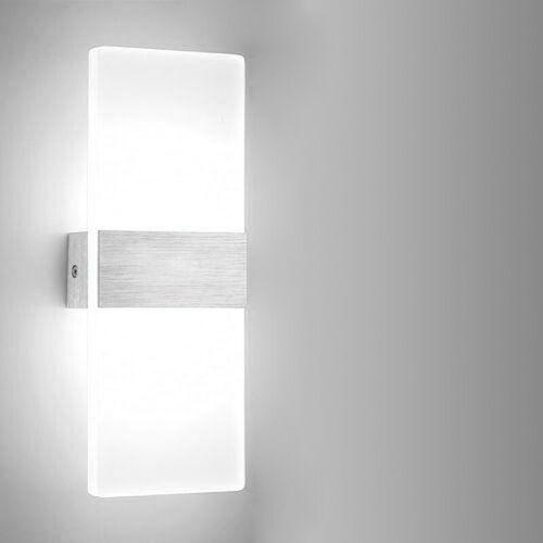 6W 12W LED Flurlampe InnenleuchteWandbeleuchtungKellerWandleuchte Wohnzimmer