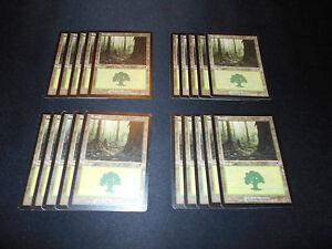7th Edition SAME ART Magic MTG FTG 20 Basic Land MP-NM Plains