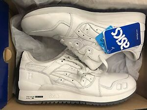 new product 849da d6dca Details about FOSS GALLERY X ASICS GEL-LYTE 3 III GL3 - WHITE BLACK - SIZE  9 BRAND NEW