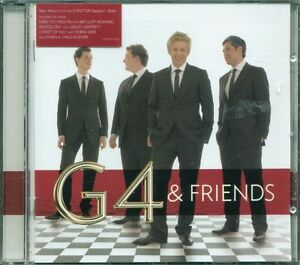 G4-amp-Friends-Cliff-Richard-Lesley-Garrett-Robin-Gibb-Cd-Ottimo