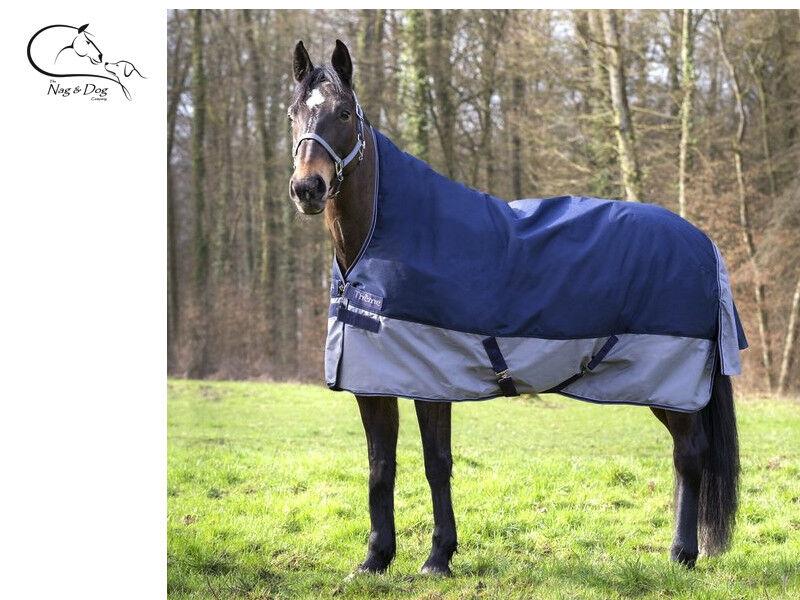 Equitheme TYREX 600D 150G riempimento affluenza alle urne Tappeto Cavallo Pony Collo Alto CONSEGNA GRATUITA