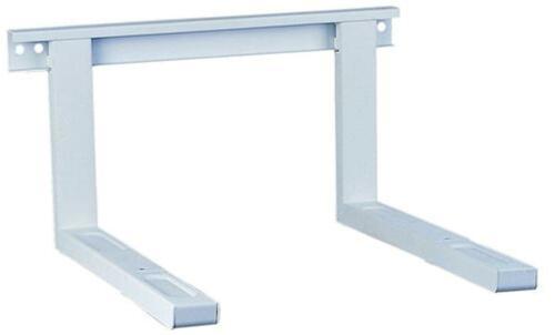 STABILE Mikrowellenhalterung aus Metall flexibel Einstellbar in Silber NEUWARE