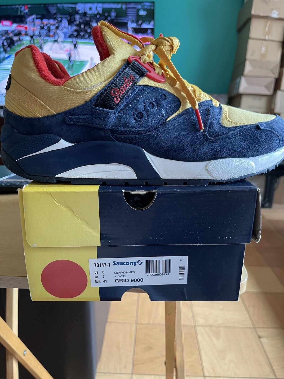 Packer Shoes Saucony Grid 9000 Just Blaze Snow Be… - image 2