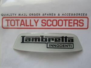 """Rear frame badge /""""Innocenti Lambretta/"""" for Lambretta"""