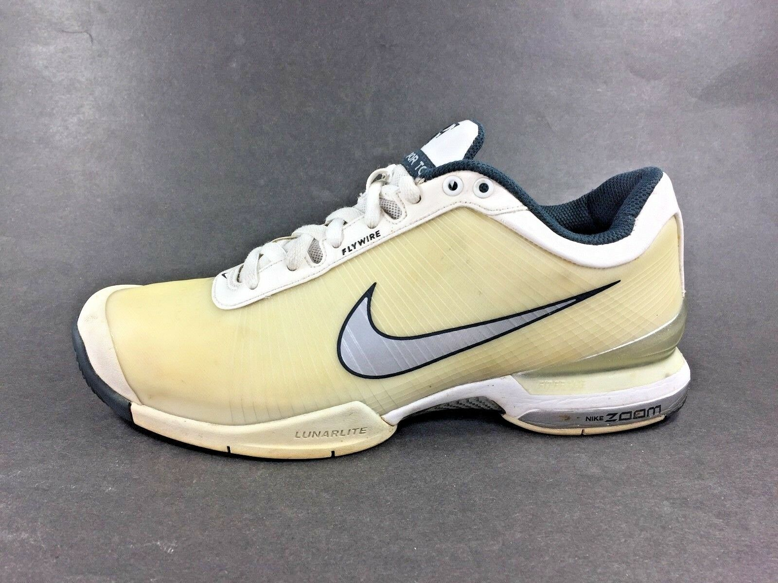 Nike? Zoom Vapor Tour VI  6 Tennis Shoes RF Roger Federer Men Sz 6.5 344539-101