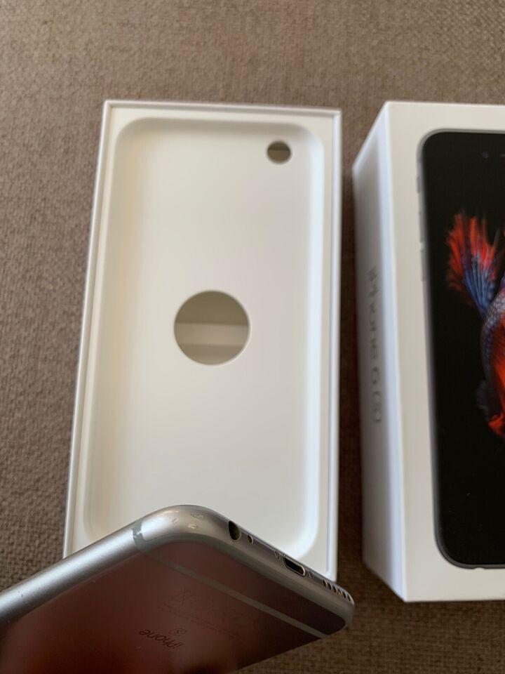 iPhone 6S, 128 GB, grå