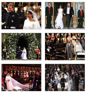 Royal-Wedding-Harry-and-Meghan-Markle-6-Card-Full-Size-POSTCARD-Set-2