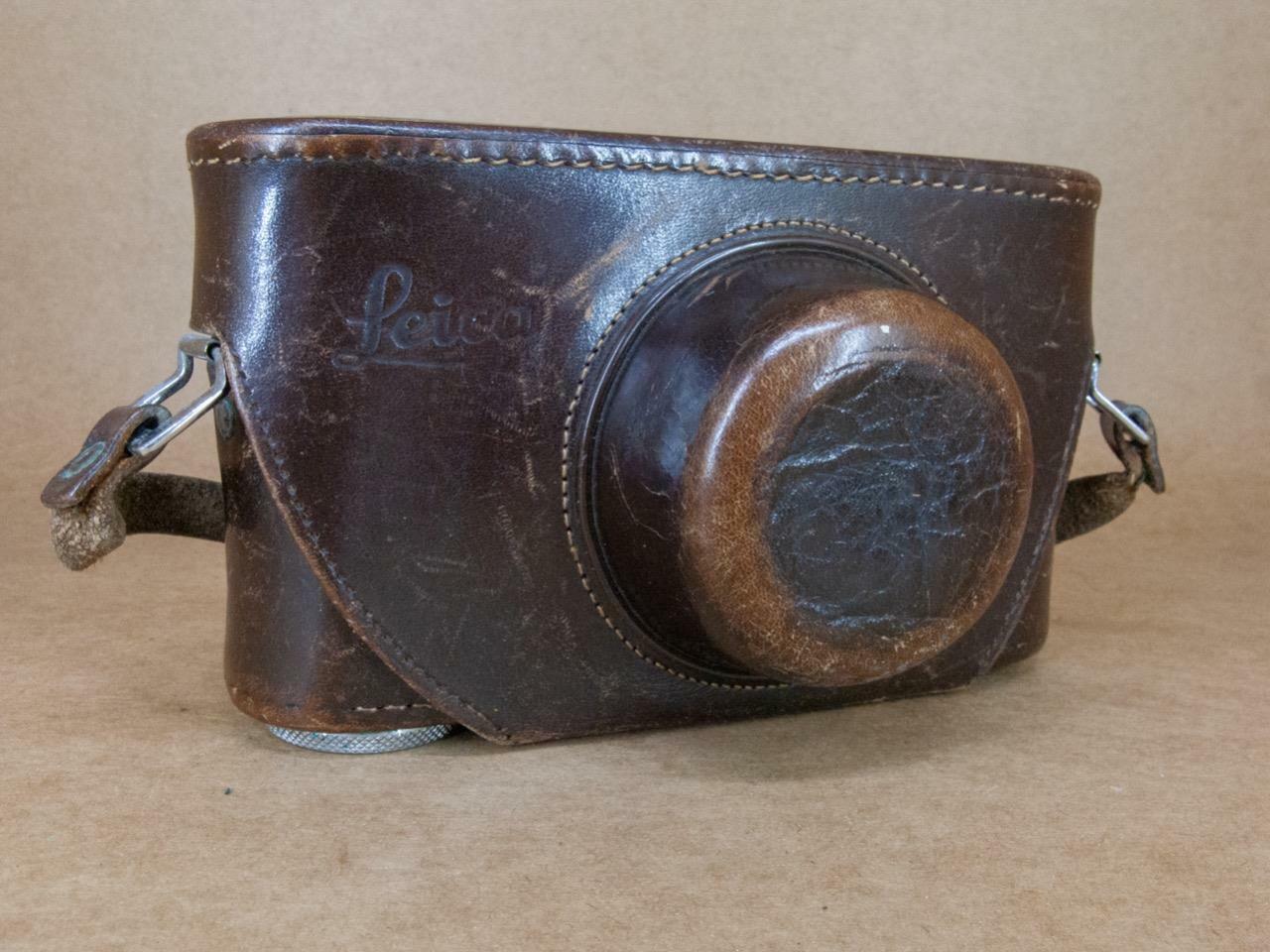Leitz Leica IIIg Leather Ever-Ready Case 1/4'' Thread Bodies
