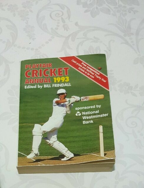 Playfair Cricket Annual: 1993 by Headline Publishing Group (Paperback, 1993)