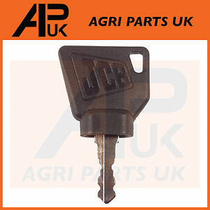 2X Equipment Ignition Key for Switch Starter JCB 3CX Parts Digger Plant Keys  R