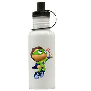 Personalized Super Why Water Bottle Gift Add Name