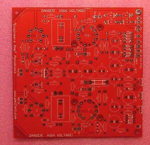 Diy Pcb 50 Watt Monoblock Engineers Amplifier Tube Amp Ebay