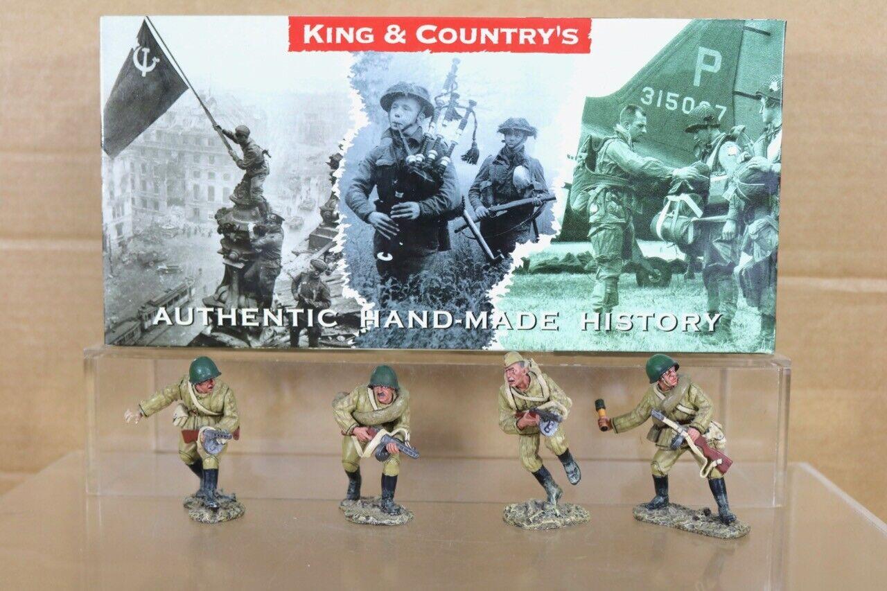 King & Country RA008 Caída de Berlín II Guerra Mundial Rusia el Ataque Set Caja