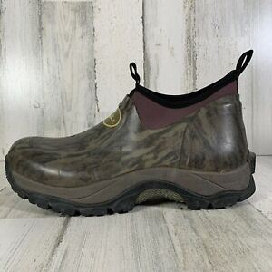 Drake Waterfowl MST Low Top Mudder Boots Camo Rubber Men's Size 10