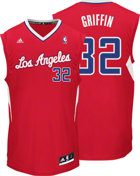 NBA Blake Griffin Los Angeles Clippers Basketball Shirt Jersey Vest